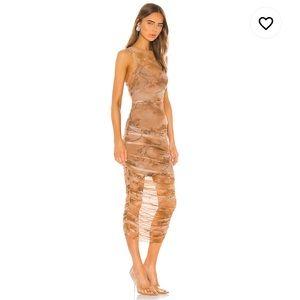 IamGia Brown Slip dress (2 pieces) - Size Medium